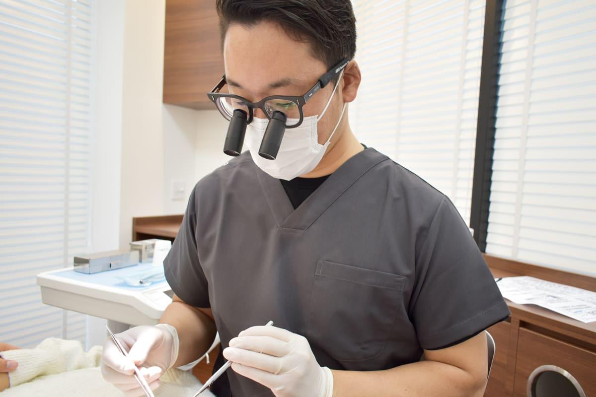 世田谷 下北沢駅前歯科クリニック インプラントに精通した院長